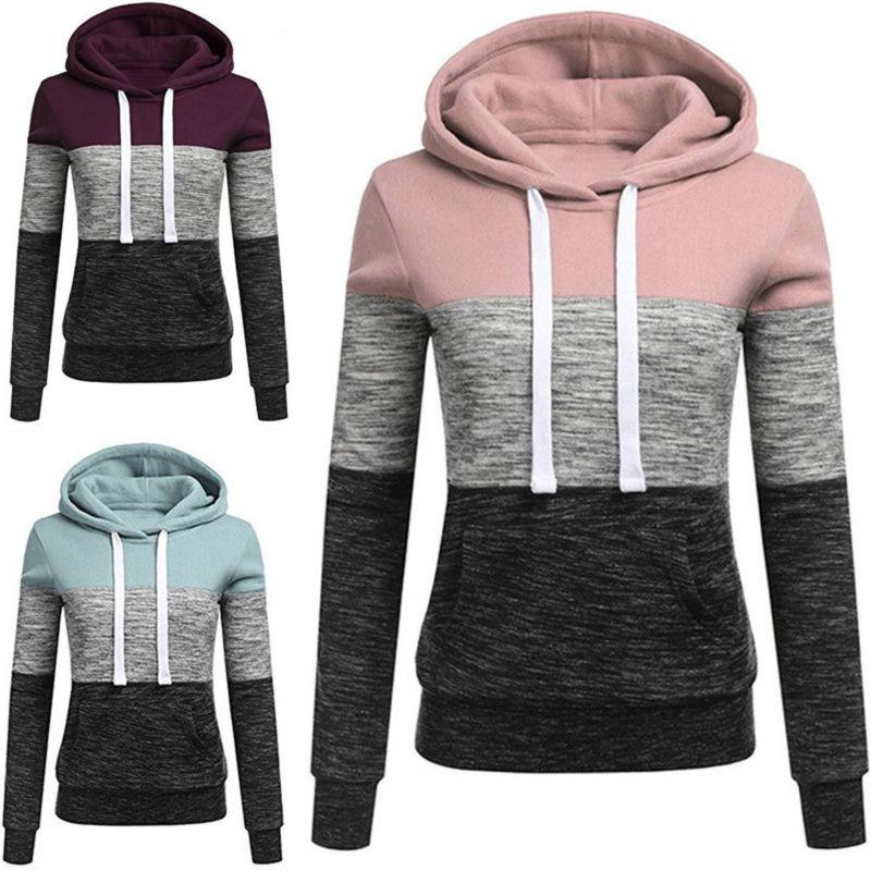 Womens Sleeve Sweatshirt Hooded