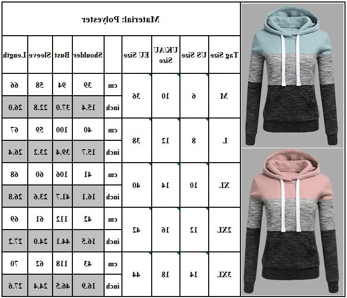 Womens Sweatshirt Hooded Sweater Tops