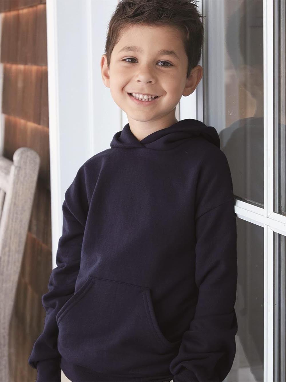 youth comfortblend ecosmart pullover hooded sweatshirt p473