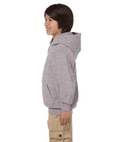 youth comfortblend ecosmart pullover hoodie light steel