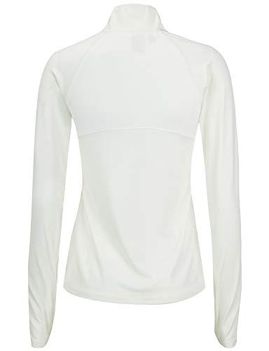 Regna X Full Zip Active Athletic Track White S