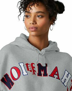 Champion Life Women's Hoodie Reverse Weave Crop Cut Off Pull