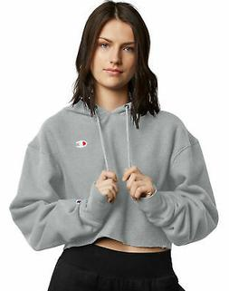 Cropped Cut Off Hoodie Sweatshirt Champion Life Women's Reve