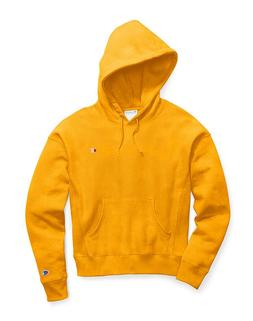 CHAMPION LIFE WOMEN'S REVERSE WEAVE GARMENT DYED HOODIE- MED