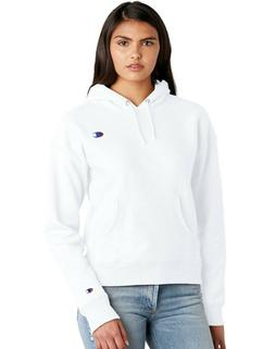 """Champion Life Women's Reverse Weave Pull Over Hood Classic """""""