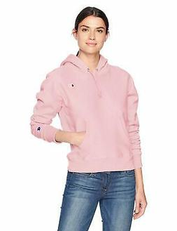 Champion LIFE Women's Reverse Weave Pullover Hoodie, Pink Ca