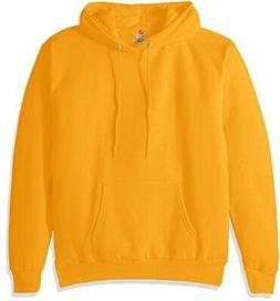 Hanes Men's Pullover EcoSmart Fleece Hooded Sweatshirt, Gold