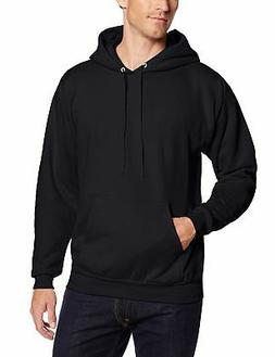 Hanes Men'S Pullover Ecosmart Fleece Hooded Sweatshirt Black