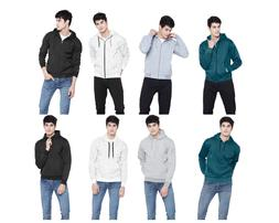 Men Women Winter Hoodies Full sleeve Sweatshirt Cotton Fleec