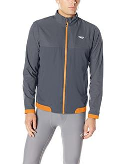 Speedo Mens Tech Warm-Up Jacket, Orange, X-Small