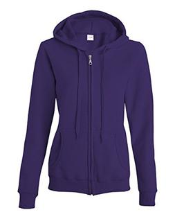 Gildan Missy Fit Heavy BlendFull-Zip Hooded Sweatshirt - Pur