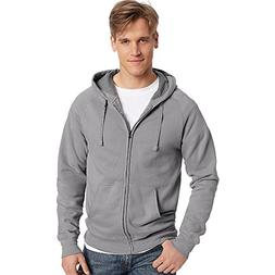 Hanes by Men Nano Premium Lightweight Full Zip Hoodie_Vintag