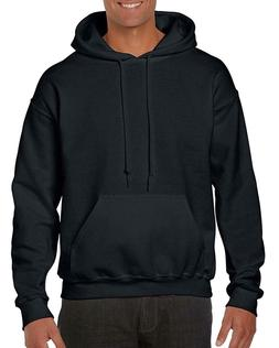 NEW Gildan Men's Heavy Blend Fleece Hooded Sweatshirt G18500