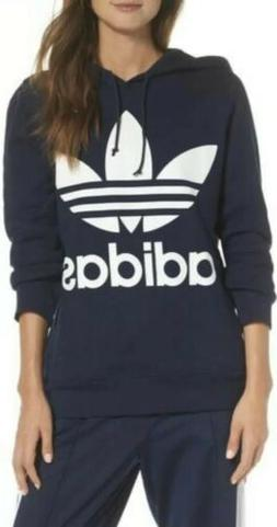 NEW ADIDAS ORIGINALS WOMEN'S TREFOIL HOODIE Women's SMALL