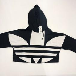 New! With Tags Adidas Women's Originals Large Logo Cropped