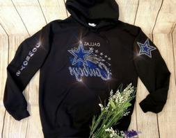 New Women's Dallas Cowboys Hoodie Sweatshirt size Extra Larg
