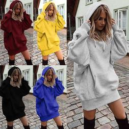 New Women's Fashion Solid Color Clothes Hoodies Pullover Coa