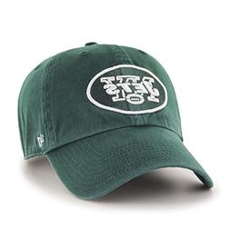 '47 NFL New York Jets Clean Up Adjustable Hat, Dark Green, O
