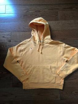 NWOT Champion Reverse Weave Hoodie Women's Medium Orange Pig