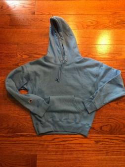 NWOT Champion Reverse Weave Hoodie Women's XS Light Blue Swe