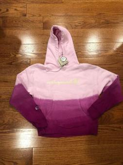 NWT Champion Reverse Weave Hoodie Women's Medium Pink Pigmen