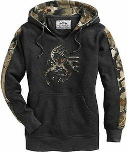 NWT - LEGENDARY WHITETAILS Women's CAMO OUTFITTER Charcoal H