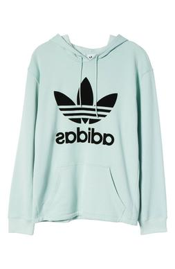 Adidas Originals Women's Fashion League Oversize Hoodie Ash