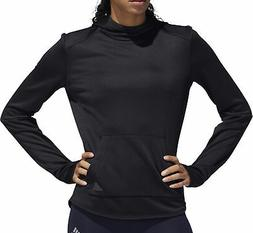 adidas Own The Run Womens Running Hoody - Black