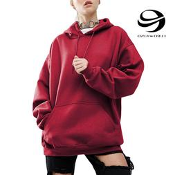 Plus Size 5XL <font><b>Women</b></font> Fleece <font><b>Hood