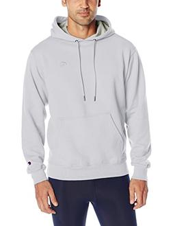 Champion Men's Powerblend Sweats Pullover Hoodie White L