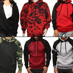 Pullover Hoodie Sweatshirt Hooded Men Women Camo Fleece Heav