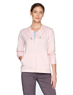 Columbia Reel Relaxed Hoodie, Cherry Blossom, White Cap, Med