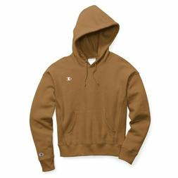 Champion Reverse Weave Pullover Hoodie - Women's Size M - Br