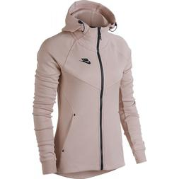 NIKE SPORTSWEAR TECH FLEECE WINDRUNNER HOODIE ROSE 842845-68