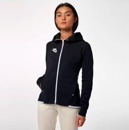 Nike Sportswear Women's Tech Fleece Windrunner Hoodie Black