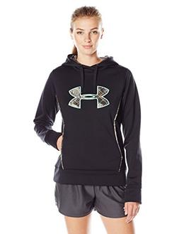 Under Armour Women's Storm Caliber Hoodie, Black , Large
