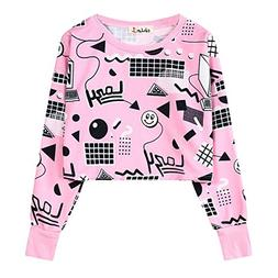 Ancia Girls Teens Cute Sweetshirt Pullover Sweater Long Slee
