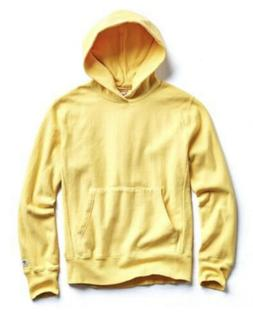 Todd Snyder + Champion Terry Popover Hoodie Sweatshirt Yello