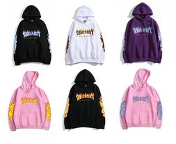 TOP 2019 Men Women Hoodies Sweater HipHop Skateboard Thrashe