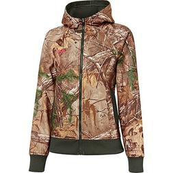 Under Armour Women's Ua Camo Full - Zip Hoodie - Mossy Oak T