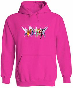 Unisex Mens Women Sweater Hoodie Print Fairies Tinkerbell Fr