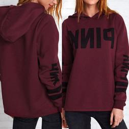US STOCK Women Long Sleeve Hoodie Pullover Sweatshirt Sweate