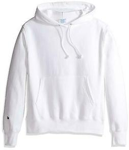 Champion White Basic Reverse Weave Pullover Hoodie
