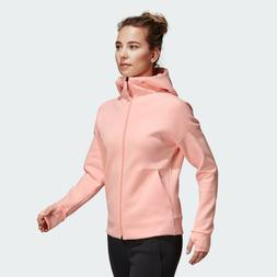 adidas Wmns Athletics Z.N.E. 2.0 Hoodie New Peach Sportswear