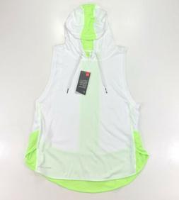 Under Armour Women Favorite Mesh Sleeveless Hoodie Shirt Siz