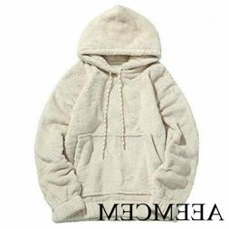 AEEMCEM Women Fleece Casual Pullover Hoodie Winter Warm Skat
