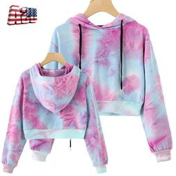 Women Hoodie Sweatshirt Jumper Sweater Crop top Coat Workout