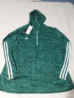 Women's Adidas Climalite Pull Over Hoodie Size XL Athletic R