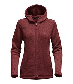 The North Face Women's Crescent Full Zip Hoodie - Barolo Red