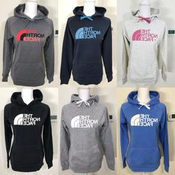 The North Face Women's Half Dome Pullover Hoodie Grey Black